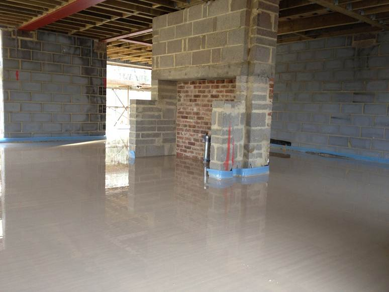 Domestic Screed Floor » Domestic Liquid Screed Floor 10 SML