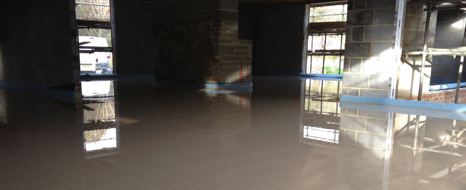 Domestic Screed Floor